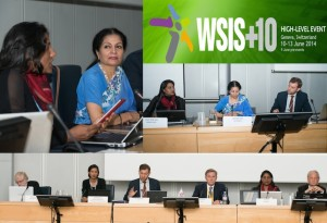 World Summit on the Information Society WSIS+10 High Level Event, June 9th 2014, Geneva, Switzerland