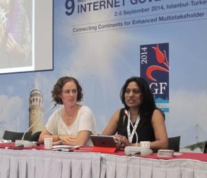 Iffat Gill at IGF 2014